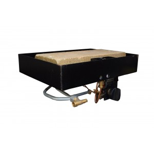 Nu Flame Gas Fire Tray - Width at Front 707mm Width at Back 707mm Straight Front