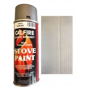 Stovebright High Temperature Paint - 6321 (400ml Aerosol) - Pewter