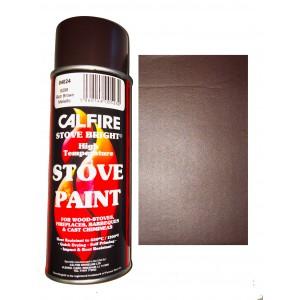 Stovebright High Temperature Paint - 6298 (400ml Aerosol) - Metallic Rich Brown