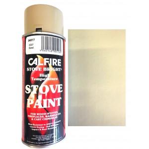 Stovebright High Temperature Paint - 6307 (400ml Aerosol) - Sand