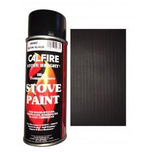 Stovebright High Temperature Paint - 1990 (400ml Aerosol) - Satin Black