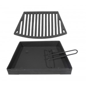 Solid Fuel Kit To Suit Victorian Fire Basket