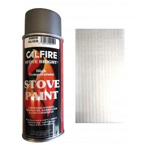 Stovebright High Temperature Paint - 6265 (400ml Aerosol) - Silver