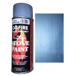 Stovebright High Temperature Paint - 6194 (400ml Aerosol) - Sky Blue