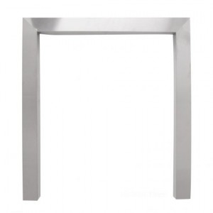 18'' Fire Trim 2'' Face 2'' Return - Brushed Stainless Steel