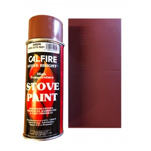 Stovebright High Temperature Paint - 1A62H302 (400ml Aerosol) - Terra Cotta Rust