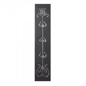 Tulip Cast Iron Highlighted Fireplace Sleeves (2 Sleeves)