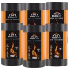 BURNACE Fire Lighters / Fire Starters - BBQ'S & Fires 600 Sachets / 6 Tubes